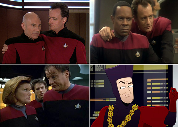 Star Trek Q Comics