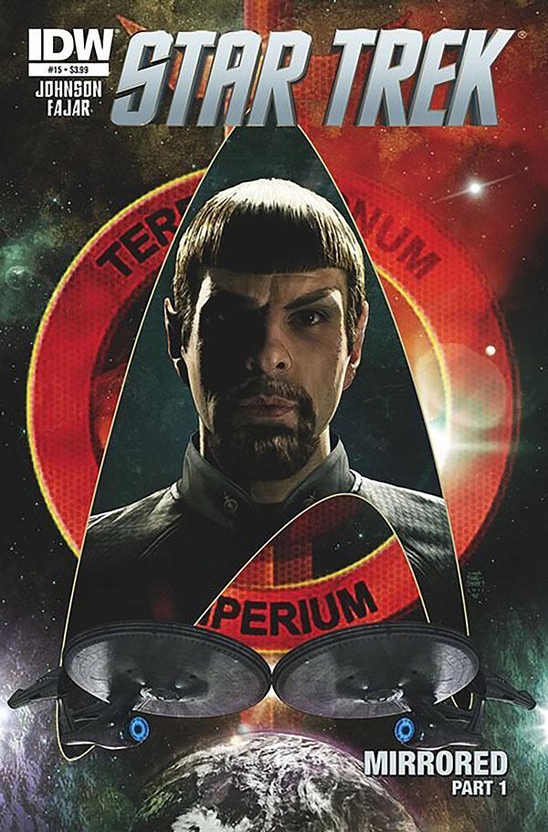 Star Trek Mirror Kelvin Spock