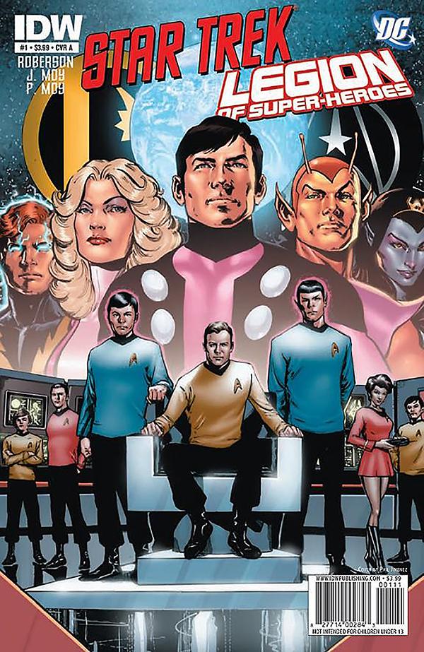 Star Trek: Legion of Super Heroes